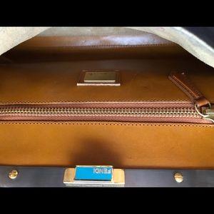 Fendi Bags - ❌sold❌Fendi regular (medium) peekaboo- Black Nappa